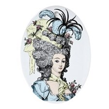 Versailles Lady Oval Ornament
