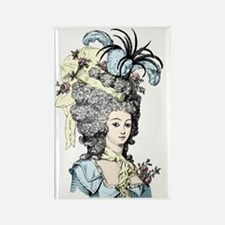 Versailles Lady Rectangle Magnet