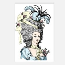 Versailles Lady Postcards (Package of 8)