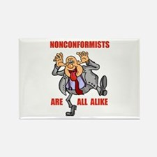 NONCONFORMIST Rectangle Magnet (10 pack)