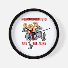NONCONFORMIST Wall Clock
