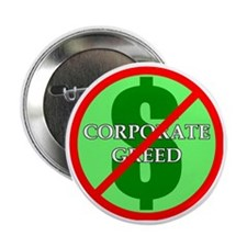 """Greed 2.25"""" Button"""
