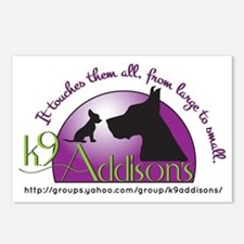 k9addisonsLogo Postcards (Package of 8)