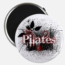 pilates organic 1 black copy Magnet