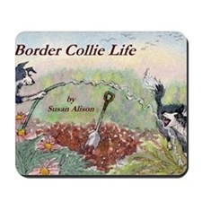 bc 1 cov gardening is fun Mousepad