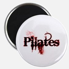pilates organic 1 white copy Magnet