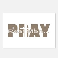 Real Men Pray - Sable Postcards (Package of 8)