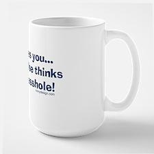 jesuslovesyouassholeSHIRT Mug