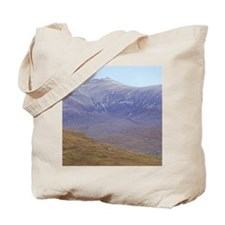 Highlands. Hikers on the West Highland Wa Tote Bag