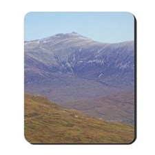 Highlands. Hikers on the West Highland W Mousepad