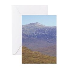 Highlands. Hikers on the West Highla Greeting Card