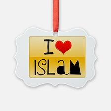 ILoveIslam-Mug Ornament