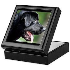 Black Labrador Keepsake Box