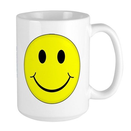 Classic Smiley Face Large Mug