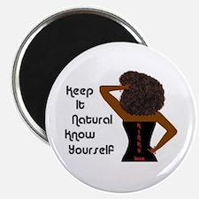 Afro-Beautiful Woman Magnet