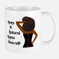 Afro-Beautiful Woman Small Small Mug