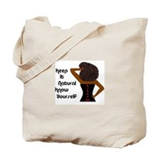 Afro-Beautiful Woman Tote Bag