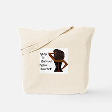 Afro-Beautiful Woman Tote Bag
