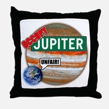 planets-large Throw Pillow