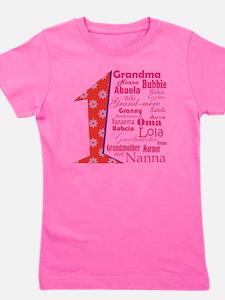 #1 Grandmother / Girl's Tee