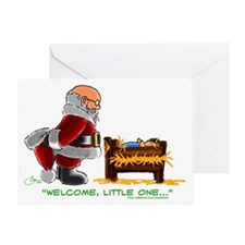 santababyjesus Greeting Card