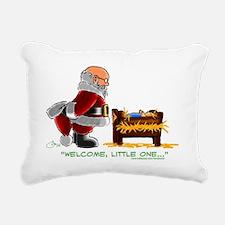 santababyjesus Rectangular Canvas Pillow