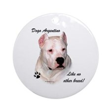 Dogo Breed Ornament (Round)