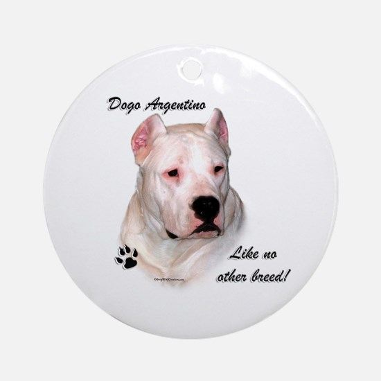 Dogo Breed Ornament (Round)