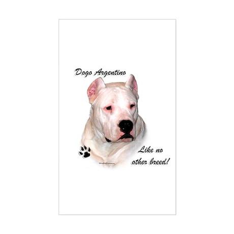 Dogo Breed Rectangle Sticker