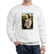 Mona & her Blue Abbyssinian Sweatshirt