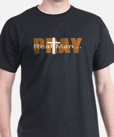 Real Men Pray - Terra Cotta T-Shirt