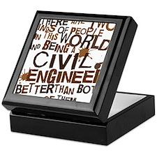civil_engineer_two_brown Keepsake Box