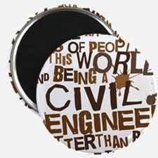 civil_engineer_two_brown Magnet