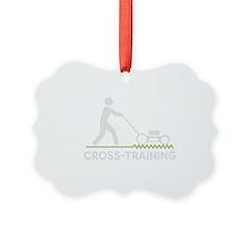 cross training wht2 Ornament