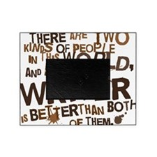 writer_two_brown Picture Frame
