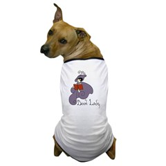 Book Lady Dog T-Shirt