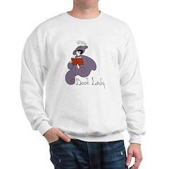 Book Lady Sweatshirt
