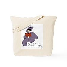 Book Lady Tote Bag