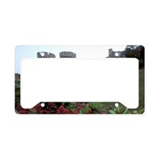 Europe, England, Windsor. Win License Plate Holder