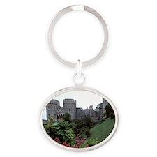 Europe, England, Windsor. Windsor Ca Oval Keychain