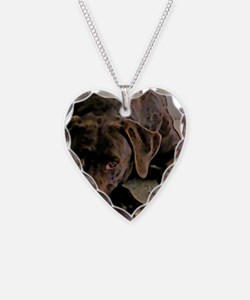 JustScout Necklace Heart Charm