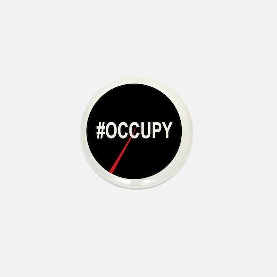 99 percent pie chart #occupy Mini Button