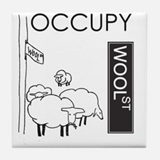 occupywoolst Tile Coaster