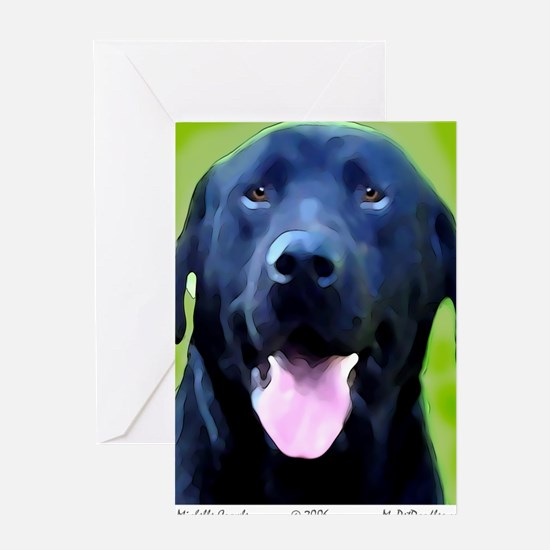 BlackLab2006a Greeting Card
