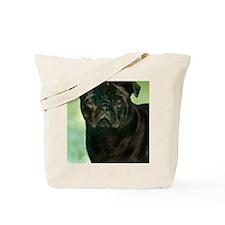 BlackPug Tote Bag