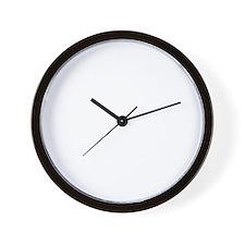 99black Wall Clock
