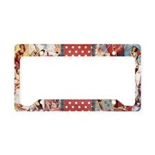 CLUTCH_Pin-Up_Red-01 License Plate Holder