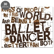 ballet_dancer_two_brown Puzzle
