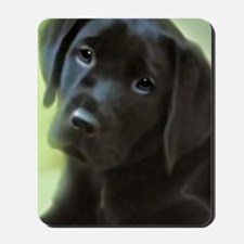 BlackLabPuppy2006 Mousepad
