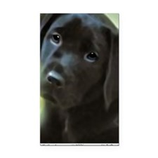 BlackLabPuppy2006 Rectangle Car Magnet
